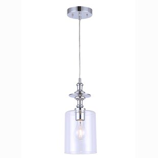 Breakwater Bay Humphries 1-Light Cylinder Pendant