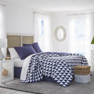 Southern Tide Portside Single Reversible Quilt