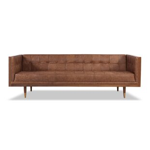 Carey Leather Chesterfield Sofa