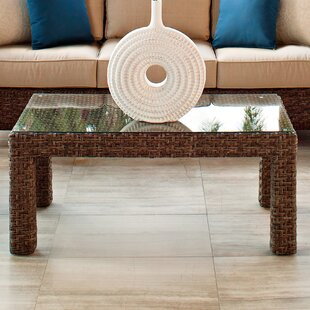 Lake Shore Wicker Rattan Coffee Table