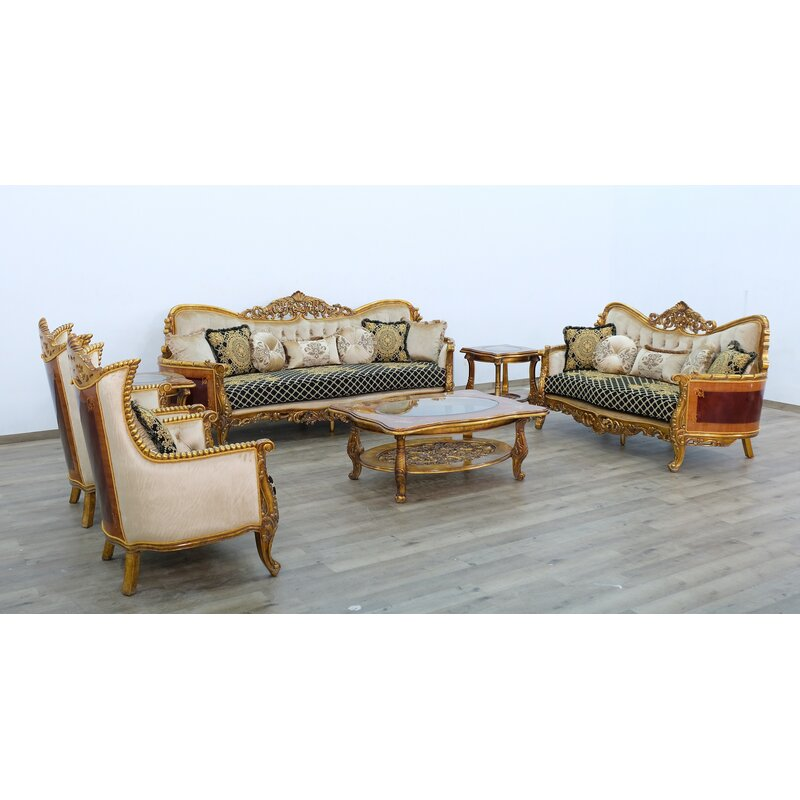 Astoria Grand Phaidra Iii 3 Piece Living Room Set Wayfair