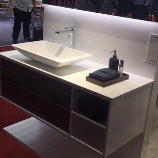 Ortiz 47 Wall-Mounted Single Bathroom Vanity Set