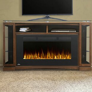TV Stand for TVs up to 70 with Fireplace Included by Napoleon