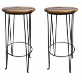 Garfield 32 Bar Stool (Set of 2) by Millwood Pines