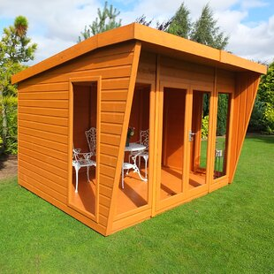 Fenny Stratford 10 X 10 Ft. Shiplap Summer House By Sol 72 Outdoor