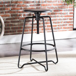 Altman Adjustable Height Bar Stool Williston Forge