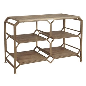 Sagebrook Home Wood and Metal Console Table