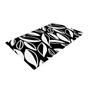 Emine Ortega Leaving Black/White Area Rug