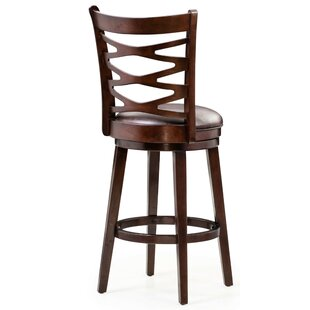 Saltzman 30 Swivel Bar Stool (Set Of 2) by Canora Grey Today Only Sale