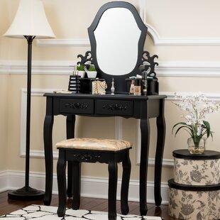 Antique Vanity Set Wayfair