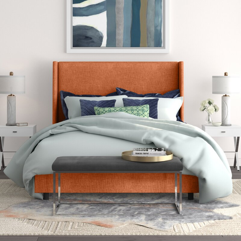 Alrai Upholstered Low Profile Standard Bed