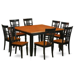 9 Piece Dining Set East West Furniture