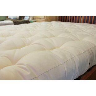 5 100% Cotton and Wool Futon Mattress by White Lotus Home