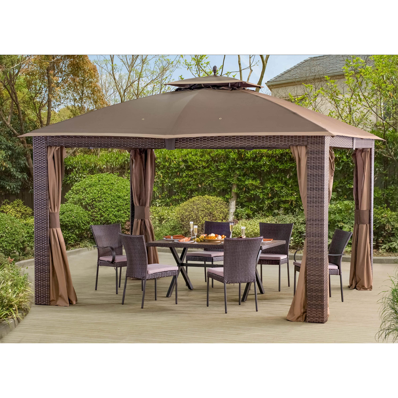 Sunjoy sonoma 12 ft w x 10 ft d steel patio gazebo reviews wayfair