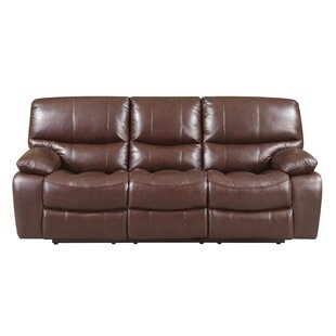 Inexpensive Ledoux Leather Reclining Sofa by Red Barrel Studio Reviews (2019) & Buyer's Guide