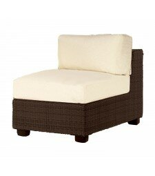 Montecito Armless Sectional Unit Patio Chair with Cushions