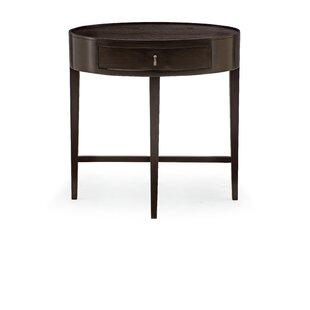 Haven Oval 1 Drawer Nightstand by Bernhardt