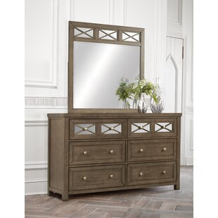 Loon Peak Ruddy 6 Drawer Double Dresser with..