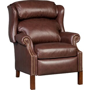 Bradington-Young Chippendale Leather Power Recliner