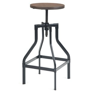 Shop For Kessler Adjustable Height Swivel Bar Stool by Williston Forge Reviews (2019) & Buyer's Guide