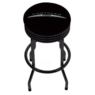 Chrysler Ribbed 28.5 Swivel Bar Stool Trademark Global