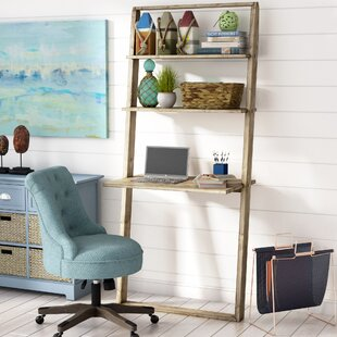Aldo Solid Wood Leaning Desk by Langley Street Cool