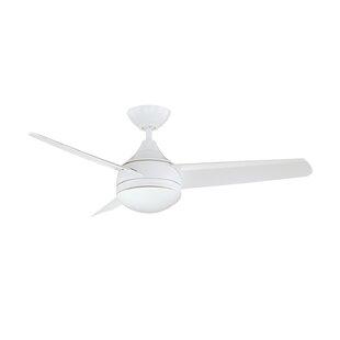 White cream ceiling fans youll love wayfair save aloadofball Gallery