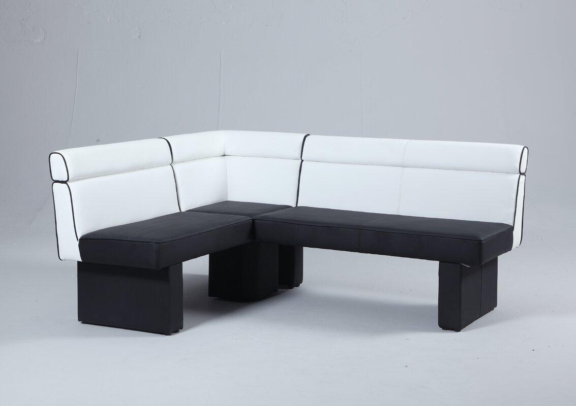 Orren Ellis Rupali Upholstered Corner Bench & Reviews | Wayfair