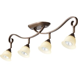 Loomis 4-Light Semi Flush Mount by Charlton Home