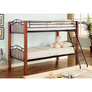 Agosto and Wood Casual Twin over Twin Bunk Bed