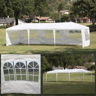 10 Ft. W x 30 Ft. D Steel Party Tent by Belleze
