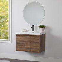 Small Bathroom Corner Vanity Wayfair