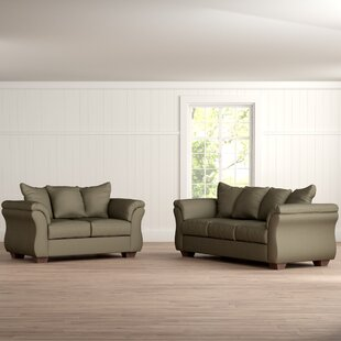 Andover Mills Chisolm 2 Piece Living Room Set