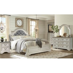 Pia Panel 4 Piece Bedroom Set