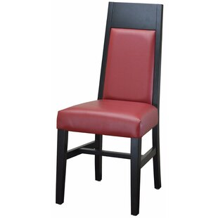 Tall Back Upholstered Dining Chair by DHC Furniture