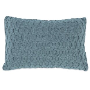 Baringer Double Knit Cotton Blend Lumbar Pillow