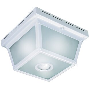 Heath-Zenith 360 Degree Motion Activated 4-Light Flush Mount