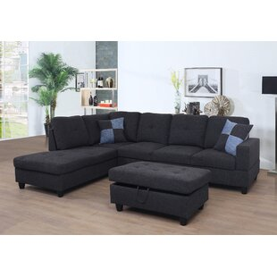 Meldrum Sectional with Ottoman