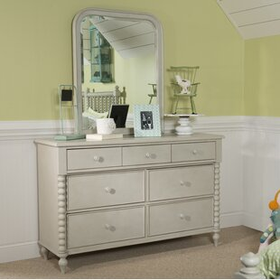 Price comparison La Crosse 7 Drawer Dresser with Mirror by Harriet Bee Reviews (2019) & Buyer's Guide