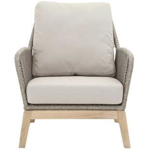 Kiley Teak Patio Chair with Cushion