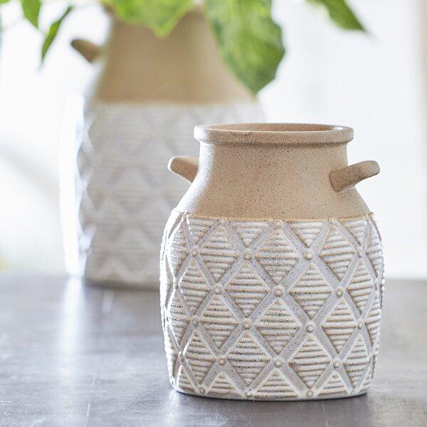Geometric Vase Wayfair