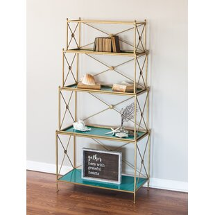 Hilal 4 Tiered Metal Etagere