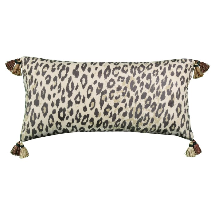 Hecht Animal Print Reversible Decorative Lumbar Pillow