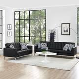 Gayatri 2 Piece Leather Living Room Set by Orren Ellis