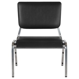 MacArthur Panel Back Stacking Chair with Cushion by Ebern Designs