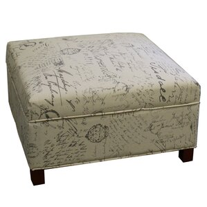 Sartain Square Storage Ottoman by Lark Manor