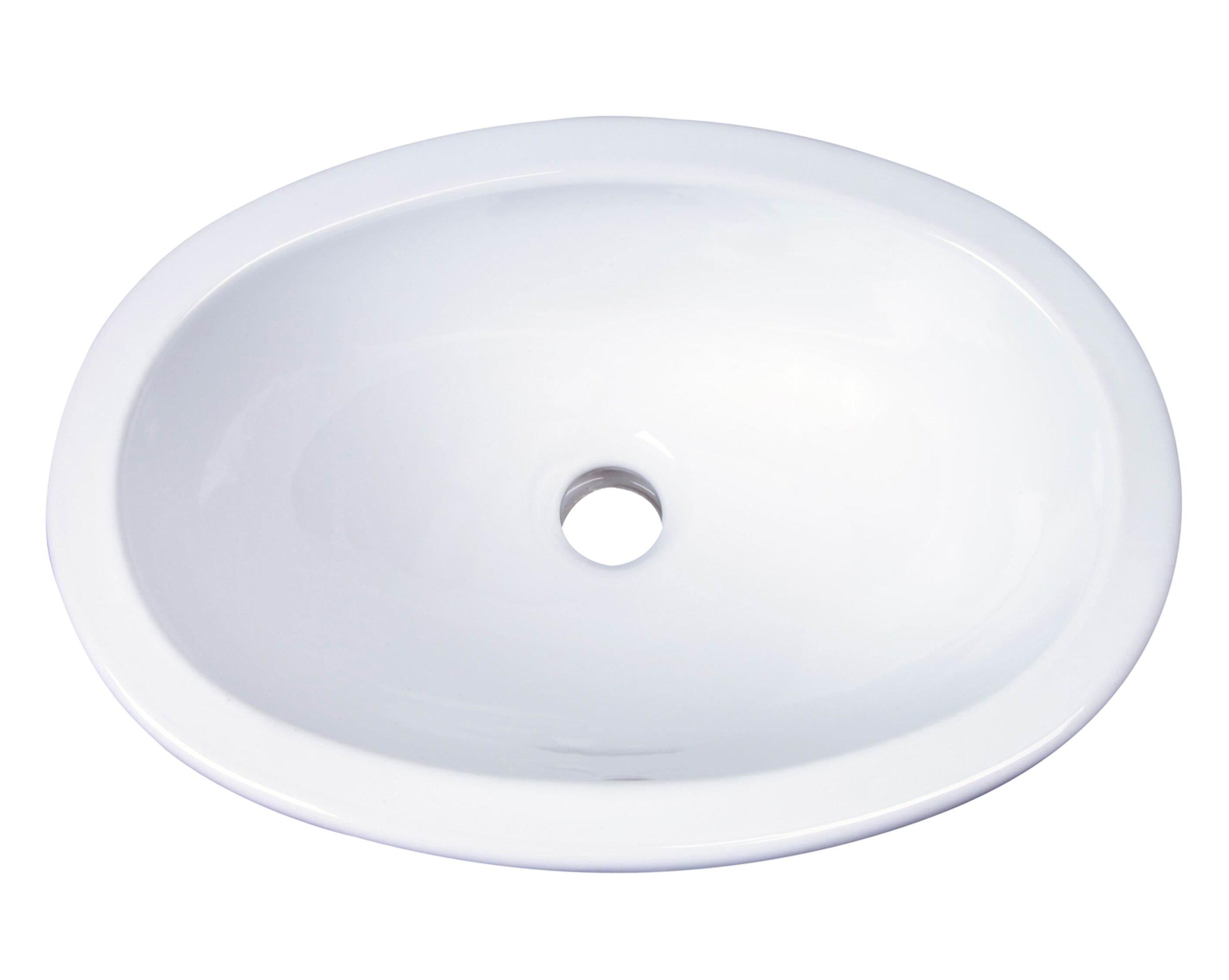 Barclay Lily Vitreous China Oval Drop In Bathroom Sink With Overflow Reviews Wayfair