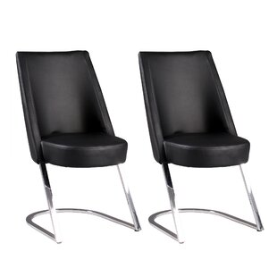 Tami Upholstered Dining Chair (Set of 2) Chintaly Imports