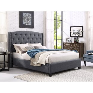Croce Upholstered Panel Bed by Darby Home Co