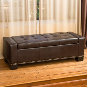 Davers Fabric Storage Bench